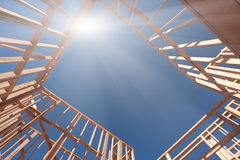 Construction Framing Abstract Royalty Free Stock Photo