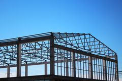 Construction framing Royalty Free Stock Photos