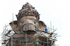 Construction,Ganesh hindu god Royalty Free Stock Photo