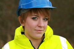 Construction girl Stock Photos
