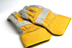 Construction gloves Stock Photography