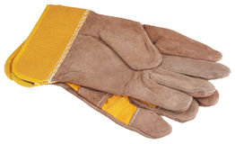 Construction gloves Royalty Free Stock Photography