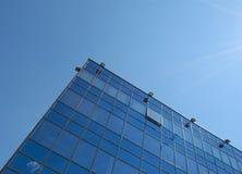 Construction grande en verre et d'acier Image libre de droits