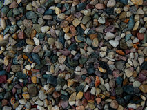 Construction of gravel texture color Royalty Free Stock Photography