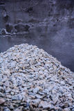Construction of gravel Royalty Free Stock Photos