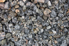 Construction gravels. Photo of Construction gravels top view Royalty Free Stock Photos