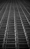 Construction Grid Abstract. Abstract of a metal construction grid Stock Photos