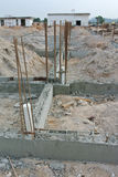 Construction of ground Beam Royalty Free Stock Photography