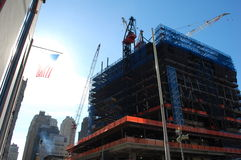 Construction at Ground Zero, New York City Royalty Free Stock Photo