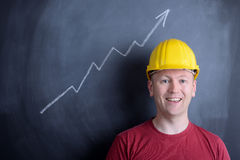 Construction growth Royalty Free Stock Image