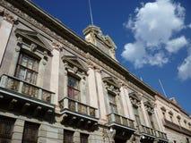 Construction-Guanajuato Mexique de gouvernement Photographie stock libre de droits