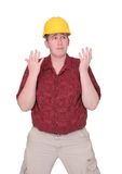 Construction guy Royalty Free Stock Photos