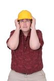 Construction guy Stock Image