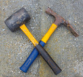 Construction hammers Royalty Free Stock Photo