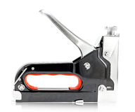 Construction hand-held  stapler Royalty Free Stock Images