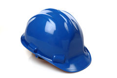 Construction Hard Hat. Isolated on white royalty free stock photos