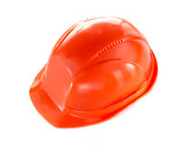 Construction hard hat isolated on white Royalty Free Stock Photography