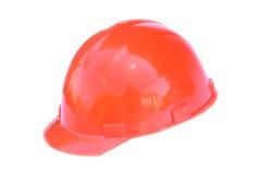 Construction hardhat. Isolated object. White background Stock Photography
