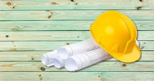 Construction Hardhat Stock Image