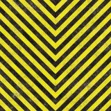 Construction Hazard Stripes Stock Image