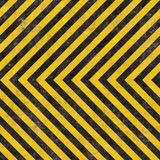 Construction Hazard Stripes Royalty Free Stock Photography