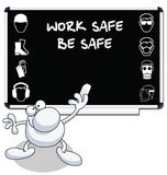 Construction health and safety Stock Photo