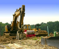 Construction - Heavy Equipment Stock Image