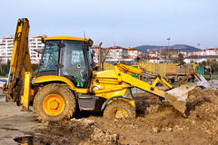 Construction Heavy Equipment Stock Photography