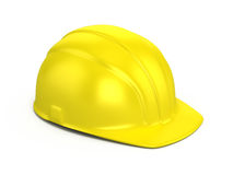 Construction helmet. Isolated on white Stock Photography