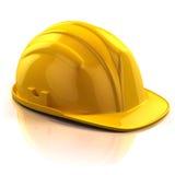 Construction Helmet. 3d illustration isolated Stock Photos