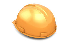 Construction helmet back view Royalty Free Stock Photography