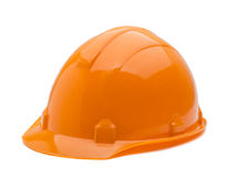 Construction helmet isolated on white background royalty free stock photography