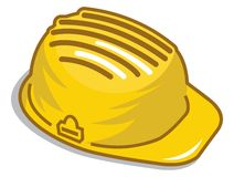 Construction helmet - under construction sign Royalty Free Stock Photography