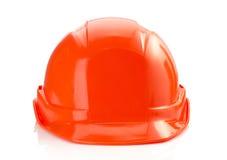 Construction helmet on white background Stock Images