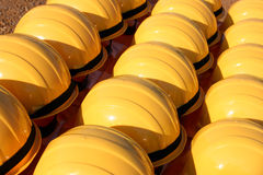 Construction helmets Stock Photography
