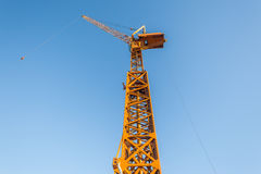 Construction High Crane Blue Royalty Free Stock Images