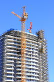 Construction of high-rise building Stock Photography