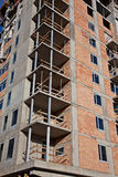 Construction of high rise building Royalty Free Stock Photography