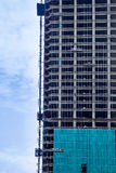 Construction of high-rise building Royalty Free Stock Image