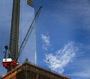 Construction Highrise building Stock Photography
