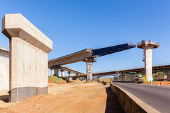 Construction Highway Ramps Junction Royalty Free Stock Photos