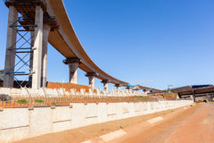 Construction Highway Ramps Royalty Free Stock Photography