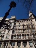 Construction historique à Buenos Aires Photographie stock libre de droits