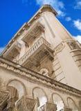 Construction historique. Bari. Apulia. Images stock
