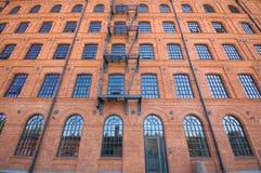Construction historique d'usine Photo libre de droits