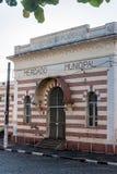 Construction historique dans Amparo Photos stock