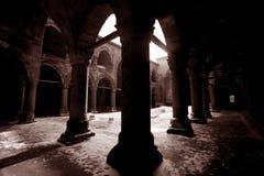 Construction historique dans Erzurum Images stock