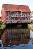 Construction historique dans Wismar en Allemagne Images libres de droits