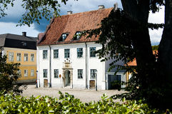 Construction historique de la Suède Kalmar photos libres de droits