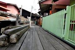 Construction historique de Penang Photo stock